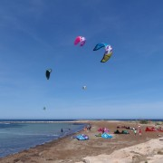 Great day for Kitesurf en Denia today!