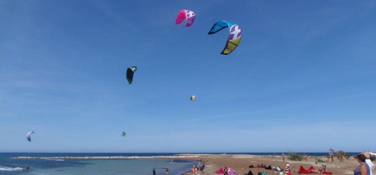 Great day for Kitesurf en Denia today!