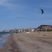 Super Tag zum Kitesurfen in Denia heute!!