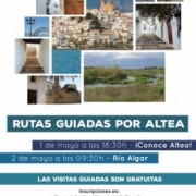 Guide walking tours in Altea