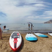 SUP BOARD TEST WITH GRAVITY CARTEL IN CALPE