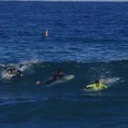 Surf sesion en Punta Negra