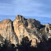 Mountain hiking Font de Partagás- Castell de Confrides