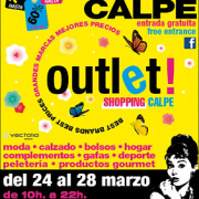 Outlet sales in Calpe on the Easter weekend