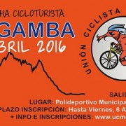 3er Marcha Cicloturista La Gamba 16th of April 2016