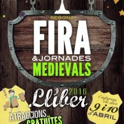 Event Medieval in LLiber April 2016