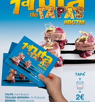 Ruta de Tapas from Calpe, Benissa and Teulada/Moraira