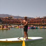 SUP / Paddle Surf during the la Bous al Mar in Denia 2016