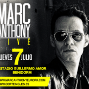 Marc Anthony Concert in Benidorm July 2016
