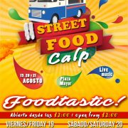 II STREET FOOD CALPE 19th until 21st DE AGOSTO 2016