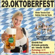 La fiesta de la cerveza (Oktoberfest) en Calpe 2016