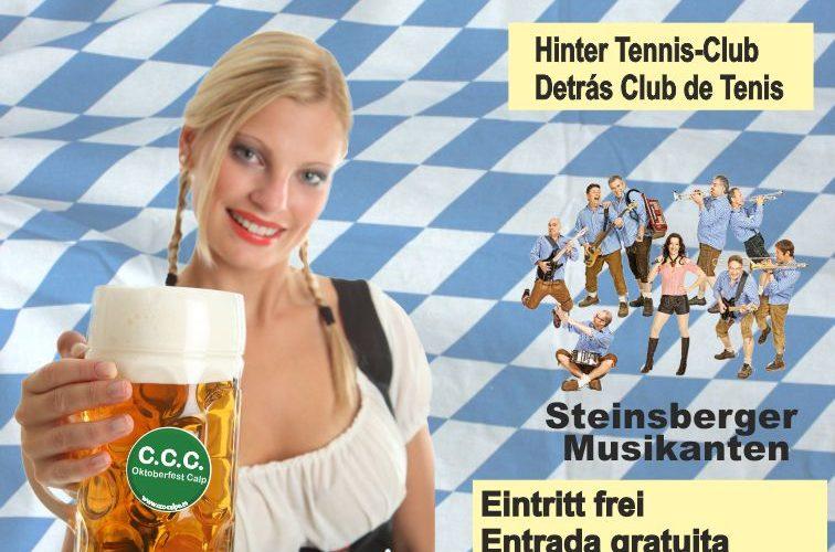 Calpe Oktoberfest Beer Festival 2016