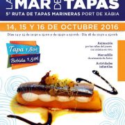 V edition of the Sea of Tapas Duanes de la Mar in Javea