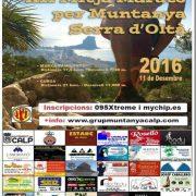 Half Marathon in Calpe Sierra de Olta 2016