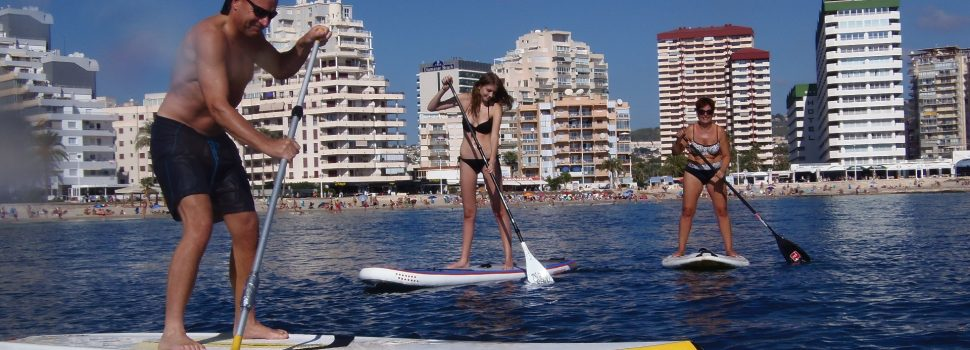 Easter Paddle Surf in Calpe