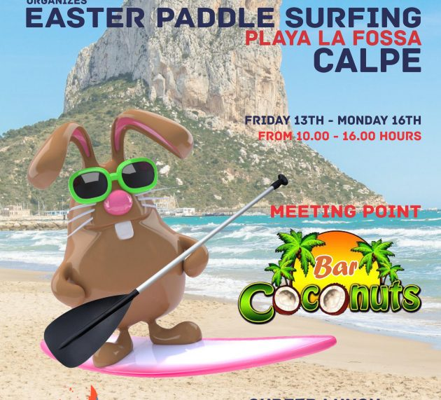 SUP and FOOD in Calpe Eastern 2017