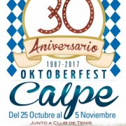 October Beer Festival in Calpe 2017