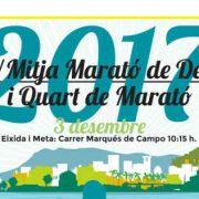 XIV Half Maratón from Dénia and Quarter Maraton