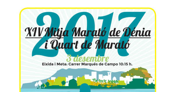 XIV Half Maratón from Dénia and Quarter Maraton