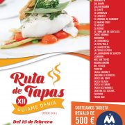 12th Tapas Route in Denia