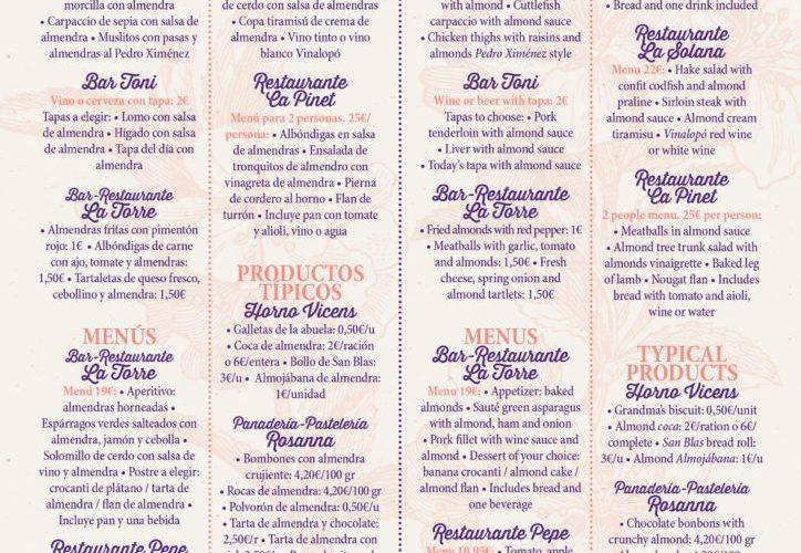 """III Ruta de la Tapa con almendra en """"Feslalí. Alcalalí en flor"""""""